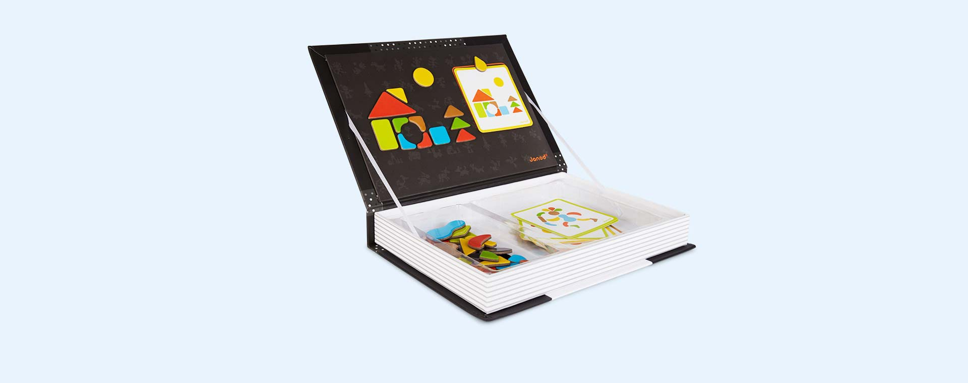 Buy the Janod Magnetibook Educational Toy at KIDLY.
