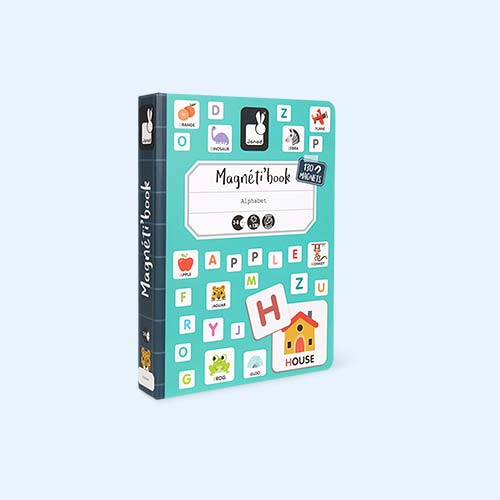 Alphabet Janod Magnetibook Educational Toy
