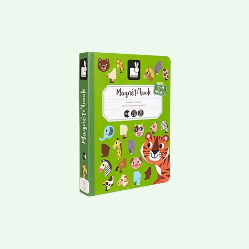 Animals Janod Magnetibook Educational Toy