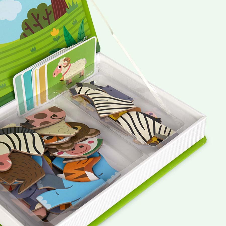 Buy the Janod Magnetibook Educational Toy at KIDLY Ireland
