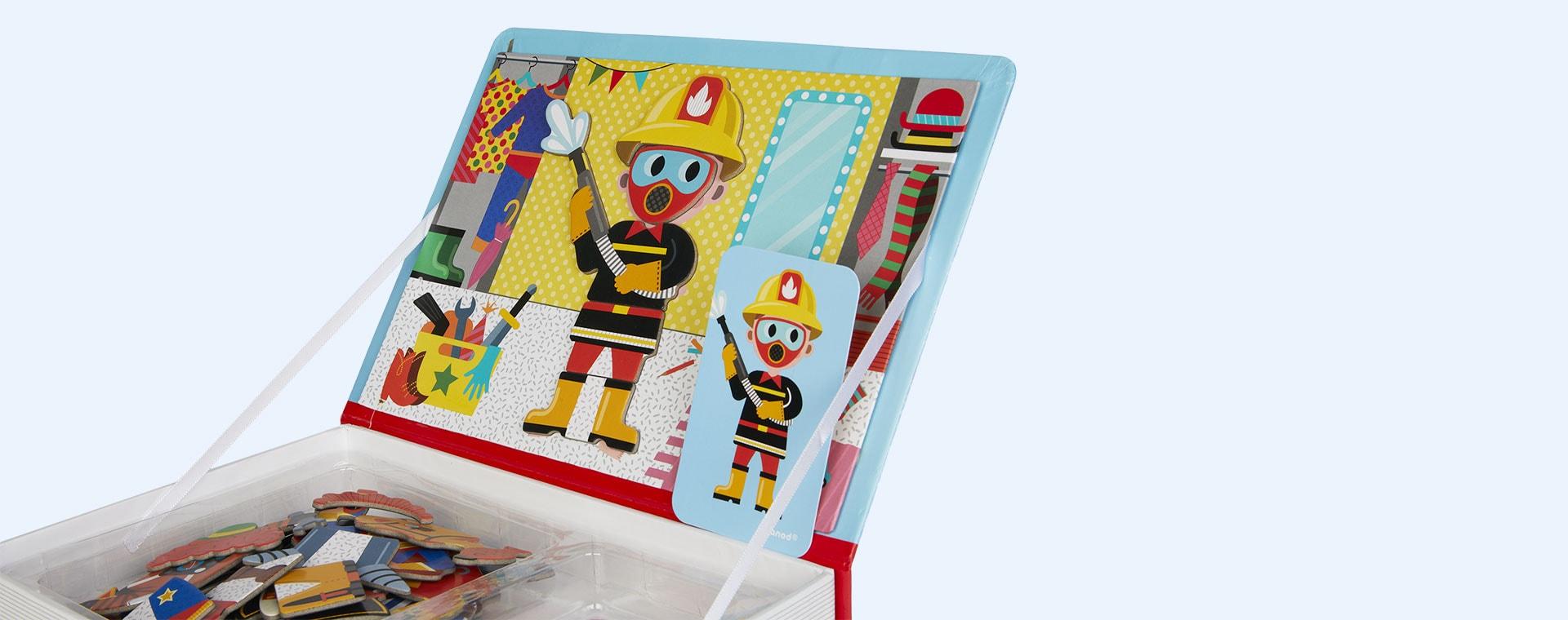 Boy's Costumes Janod Magnetibook Educational Toy