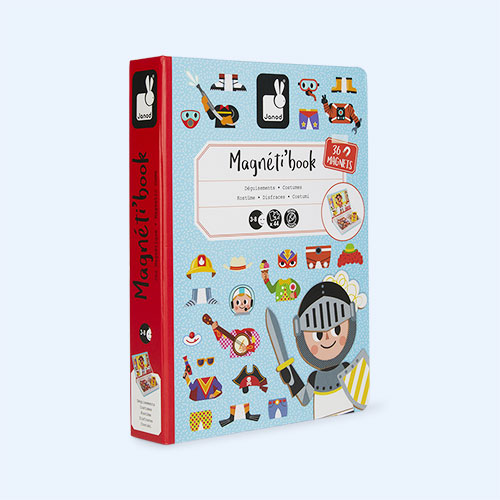 Boy's Costumes Janod Magnetibook Educational Toy