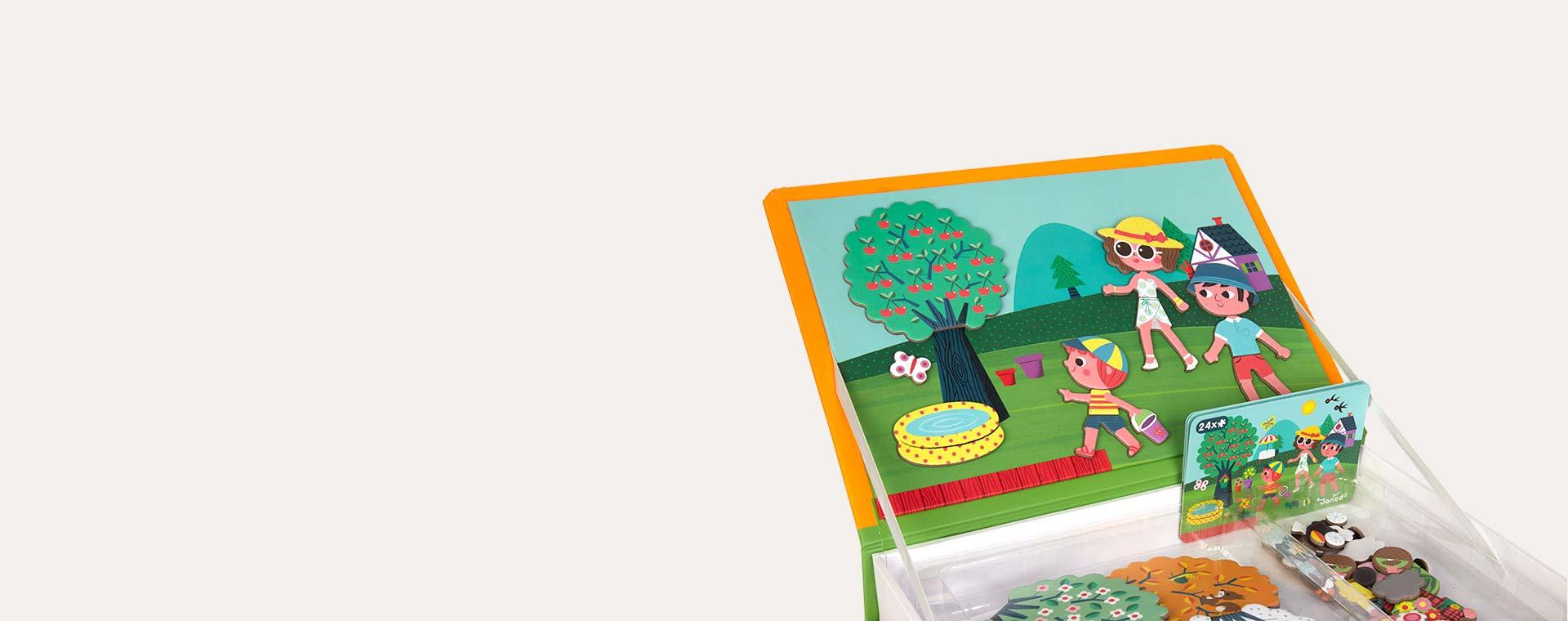 Four Seasons Janod Magnetibook Educational Toy