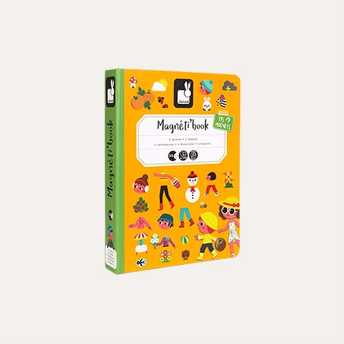 Four Seasons Janod Magnetibook Educational Toy