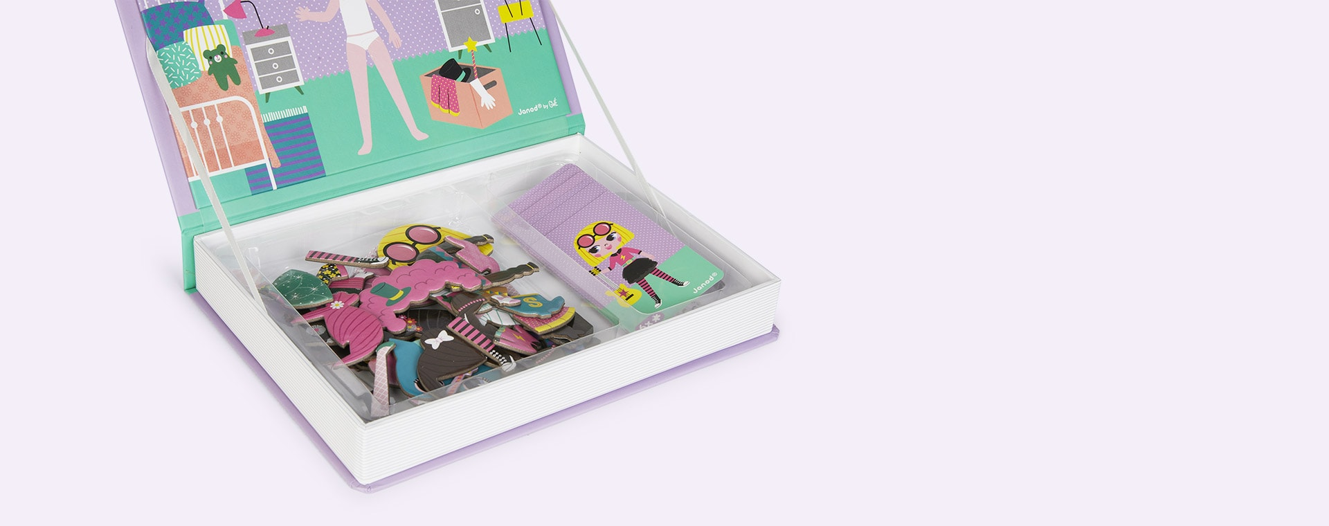 Girl's Costumes Janod Magnetibook Educational Toy