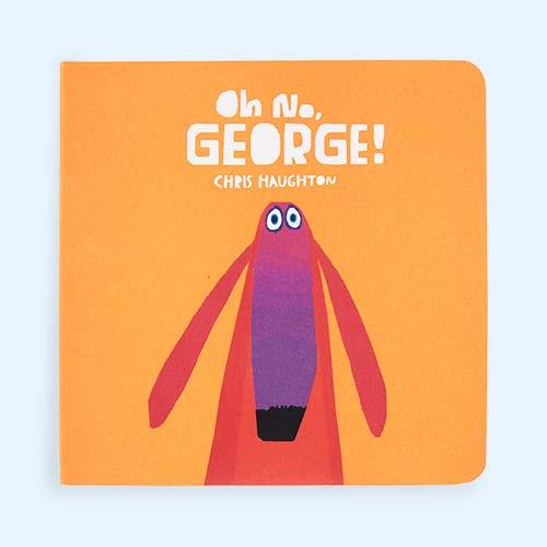 Orange bookspeed Oh No George