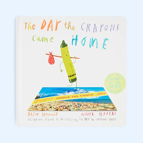 Cream bookspeed The Day the Crayons Came Home Board Book
