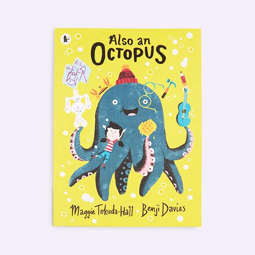 Yellow bookspeed Also an Octopus
