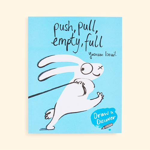 Blue bookspeed Push, Pull, Empty, Full