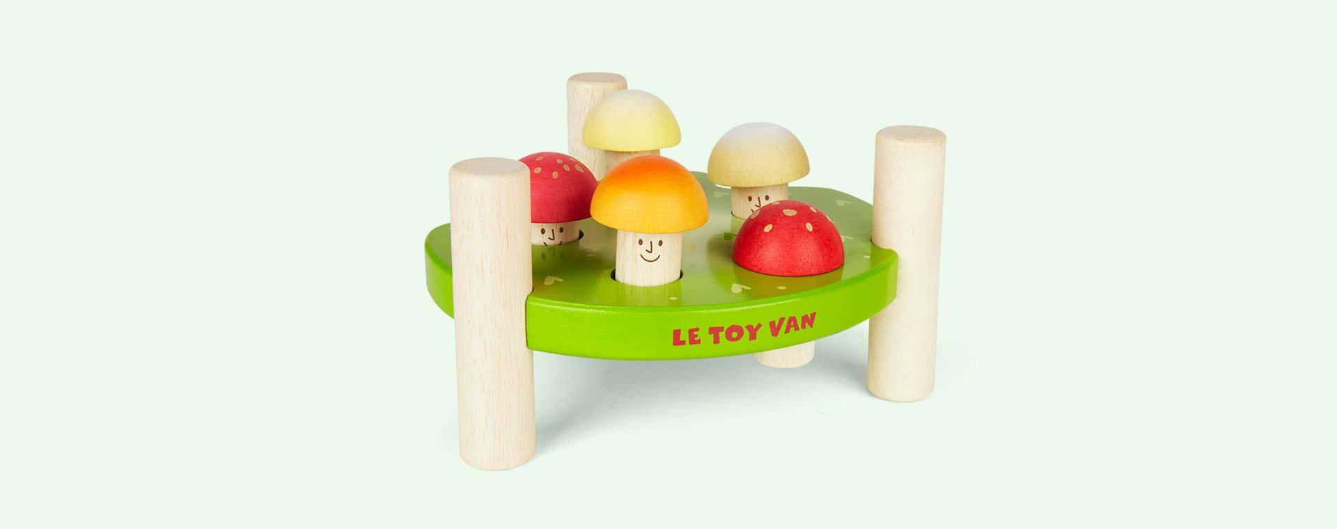 """Green Le Toy Van Hammer Game """"Mr Mushroom"""""""
