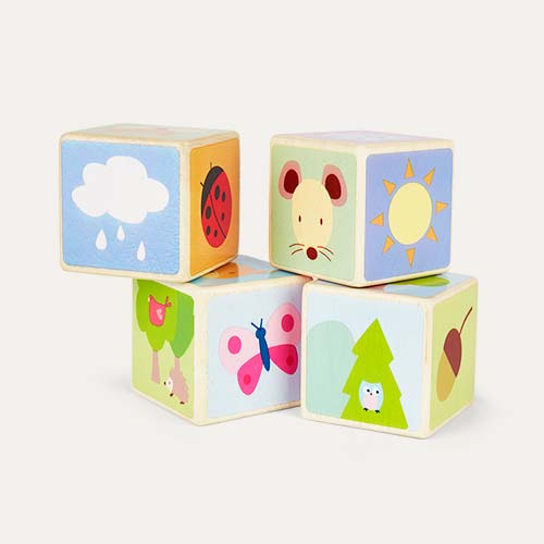Multi Le Toy Van Little Leaf Blocks