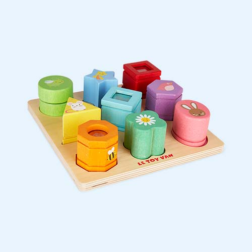 Multi Le Toy Van Sensory Shapes