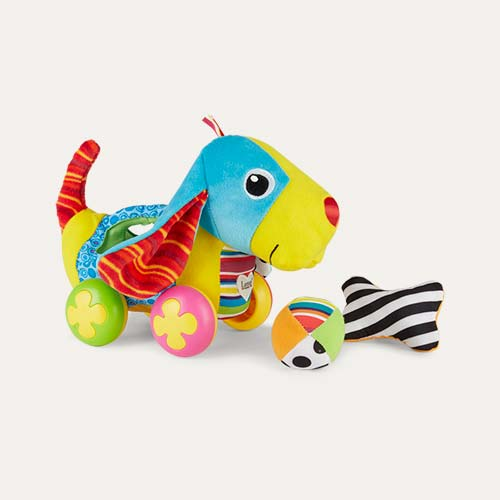 Multi Lamaze Pippin the Push Along Pup