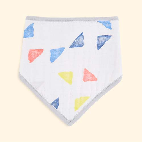 Leader of the pack aden + anais Bandana Bib