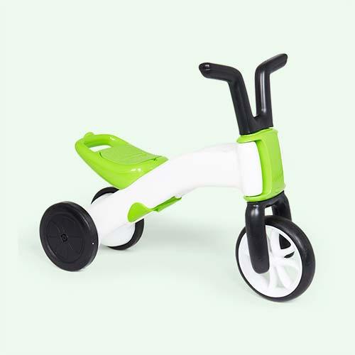 Lime Chillafish Bunzi Gradual Balance Bike
