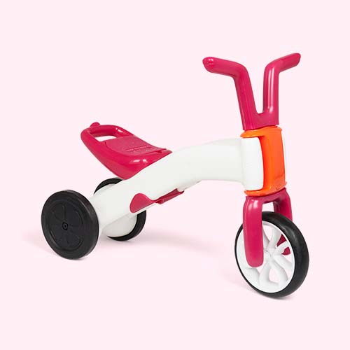 Pink Chillafish Bunzi Gradual Balance Bike