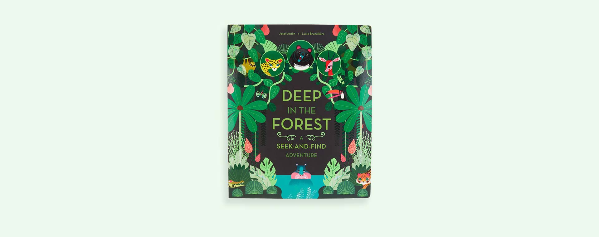 Multi Abrams & Chronicle Books Deep in the Forest Seek and Find Adventure