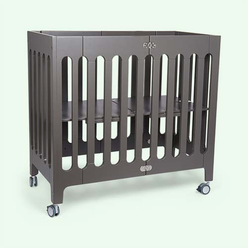 Frost Grey bloom Alma Mini Crib