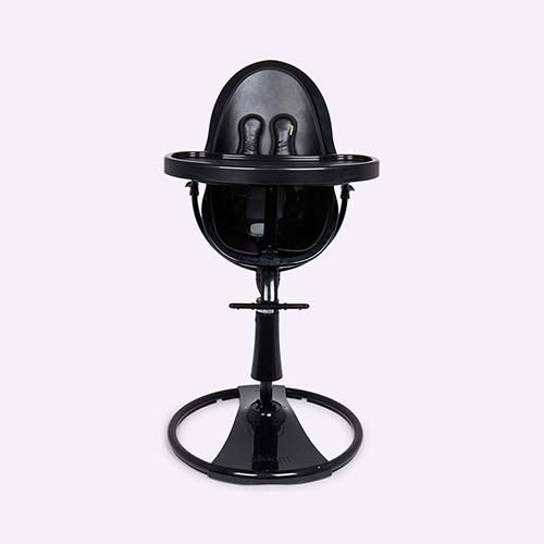 Black bloom Fresco Chrome Highchair