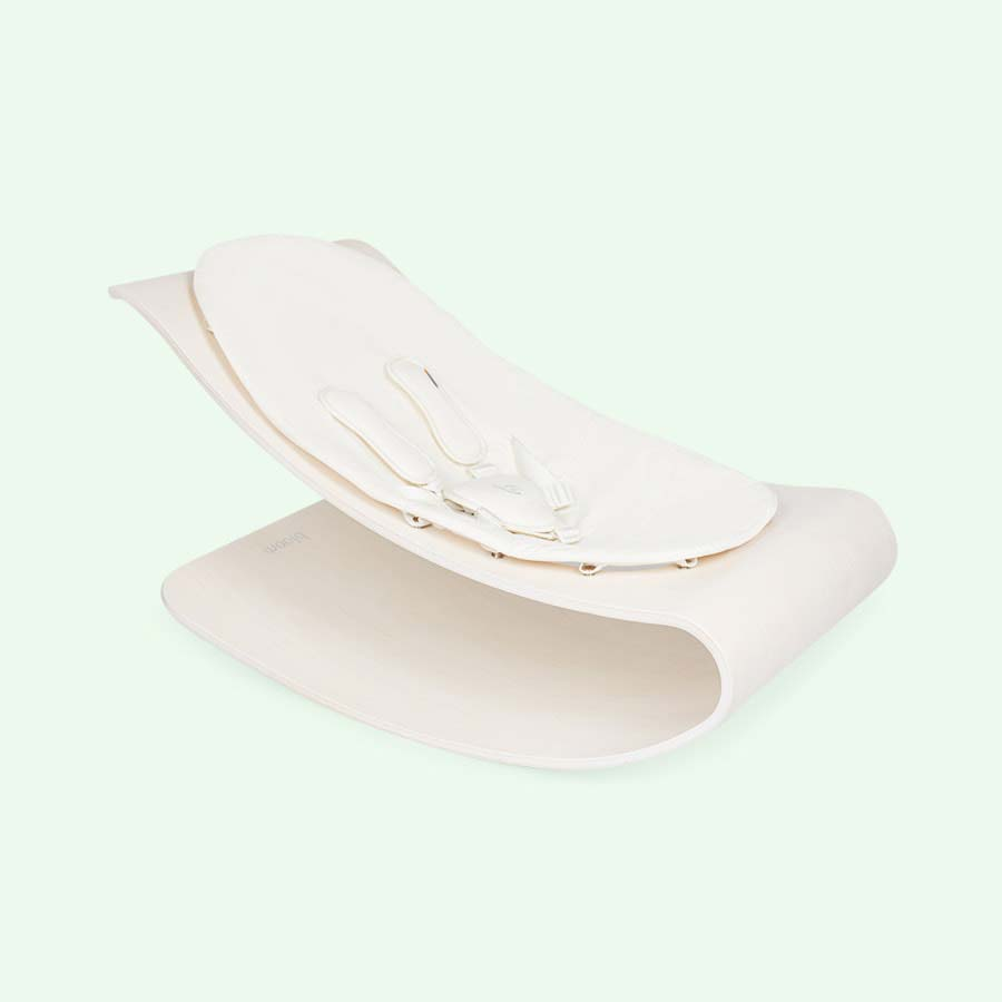 White bloom Coco Stylewood Bouncer frame