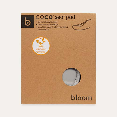 Frost Grey bloom Coco Bouncer Seat Pad