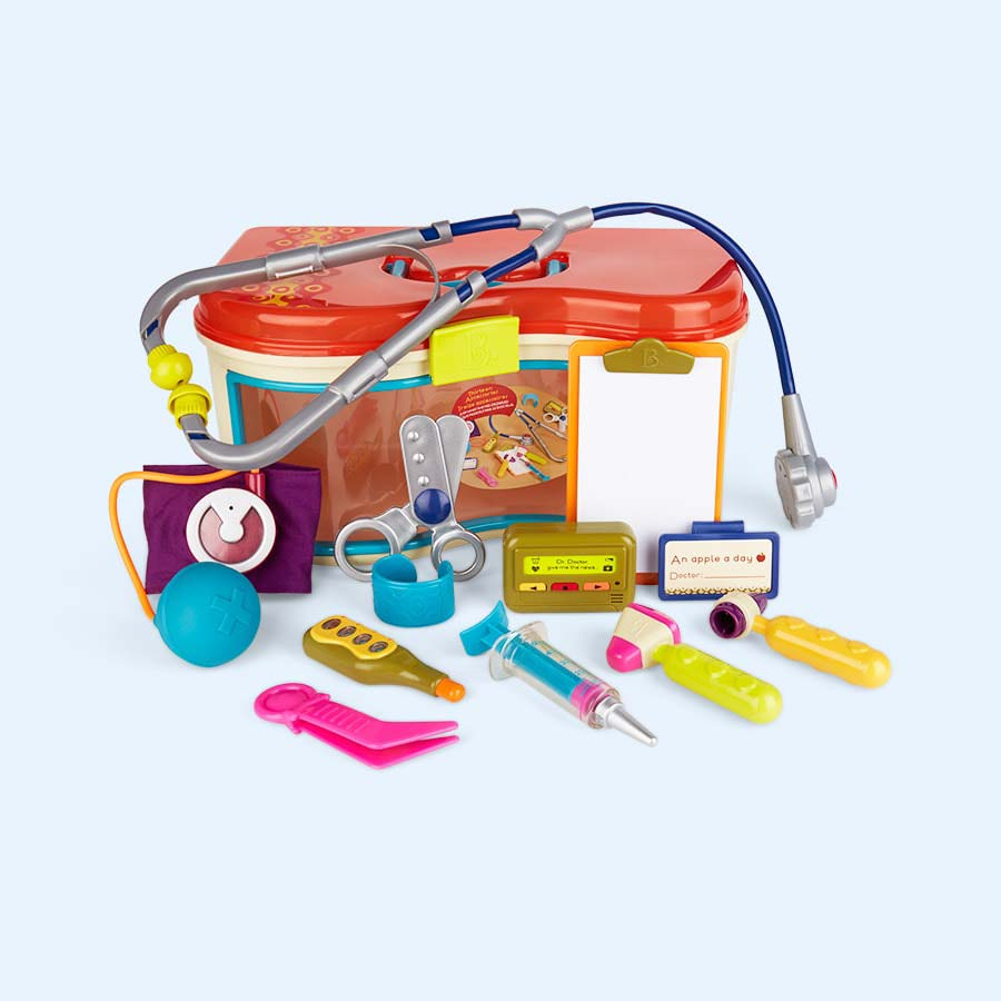 Multi B. Toys Wee MD Doctor Playset