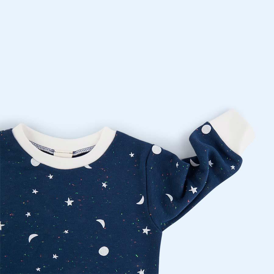 Blue Tiny Moons Sleepy Doe Pyjama Set
