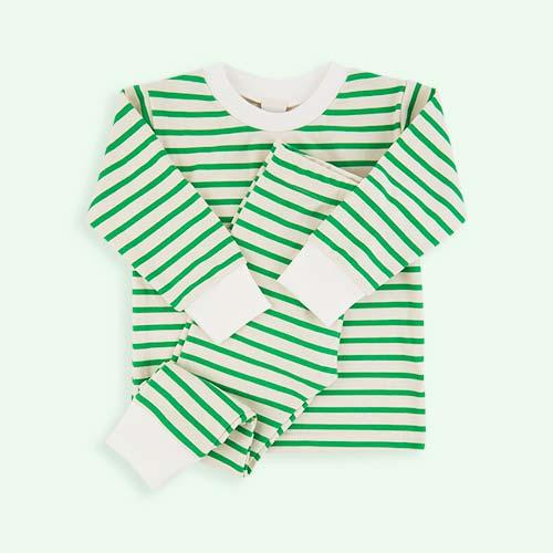 Green Sleepy Doe Pyjama Set