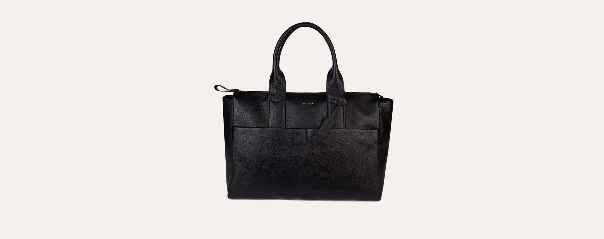 Black JEM + BEA Jemima Change Bag