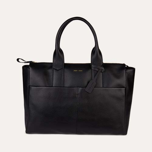 Black JEM + BEA Jemima Change Bag