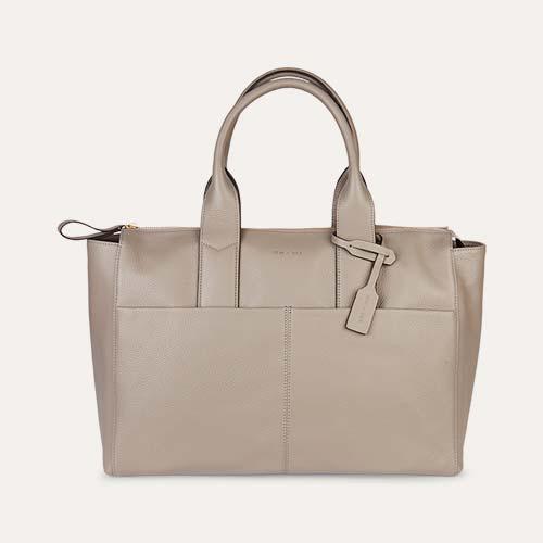 Grey JEM + BEA Jemima Change Bag