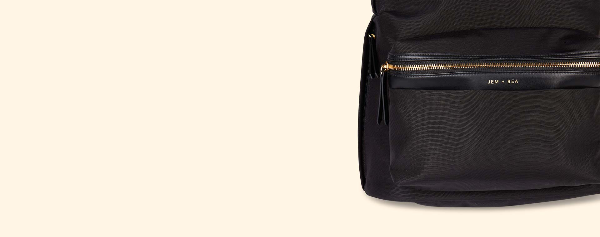 Black JEM + BEA Jamie Backpack