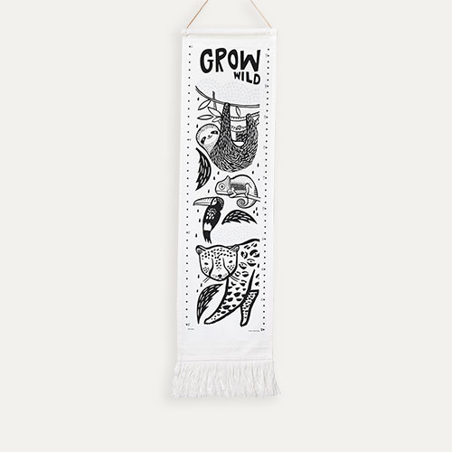 Rainforest Wee Gallery Canvas Growth Chart