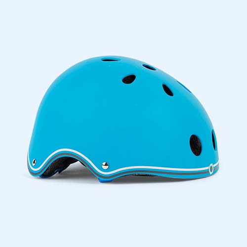 Sky Blue Globber Junior Helmet