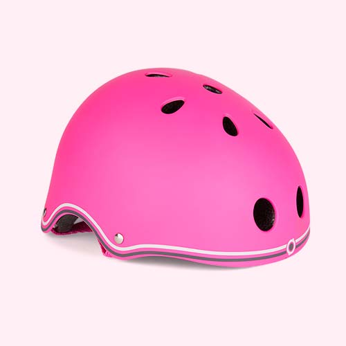 Deep Pink Globber Junior Helmet