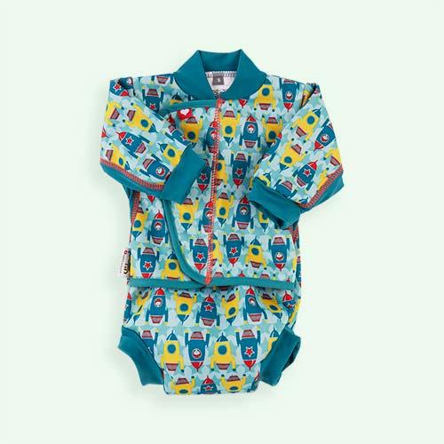Rockets Close Baby Cosy Swim Suit
