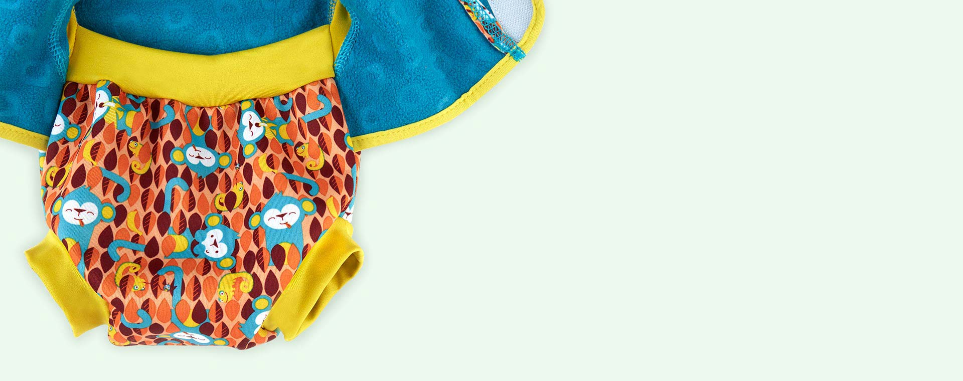 Monkey Close Baby Cosy Swimsuit