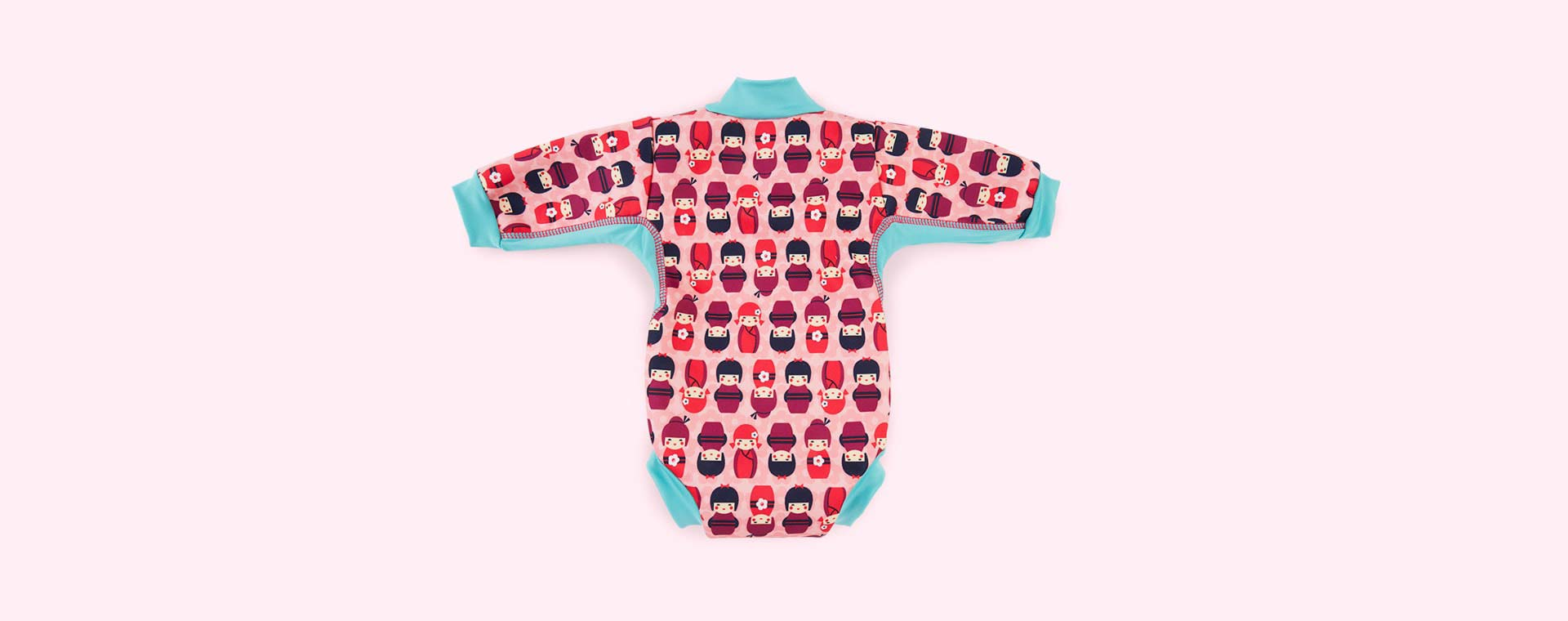 Kokeshi Dolls Close Baby Cosy Swimsuit