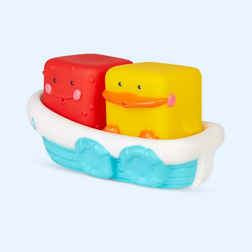 Multi B Kids Stack & Float Bath Boat Set