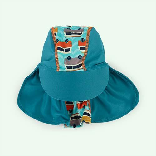 Campervan Green Close Sun Hat