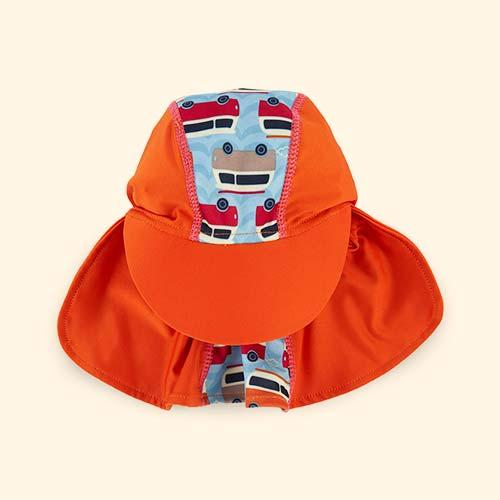 Campervan Blue Close Sun Hat