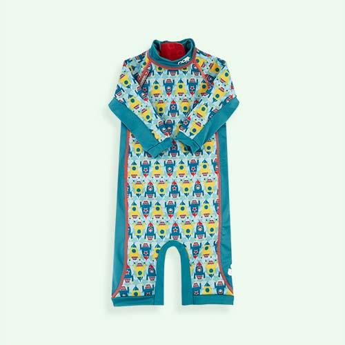 Rockets Close Toddler Swim Suit