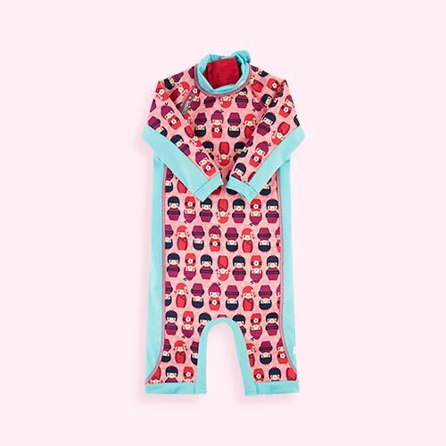 Kokeshi Dolls Close Toddler Swim Suit