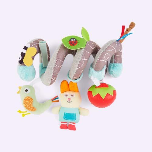 Multi taf toys Garden Spiral Stroller Toy