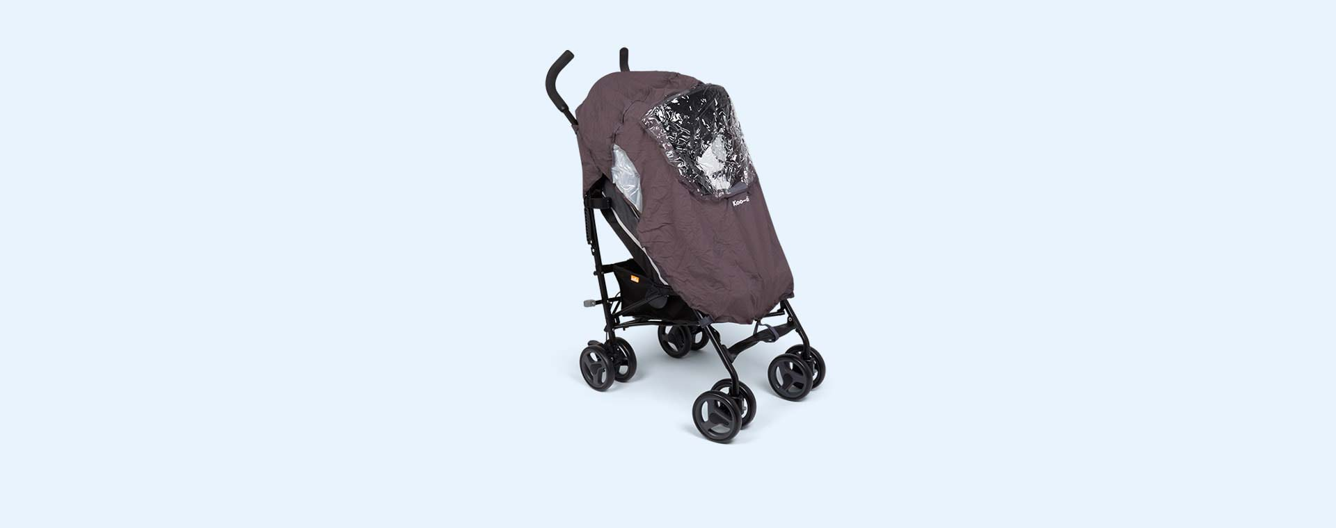 Black Koo-di Pack-It Stroller Raincover
