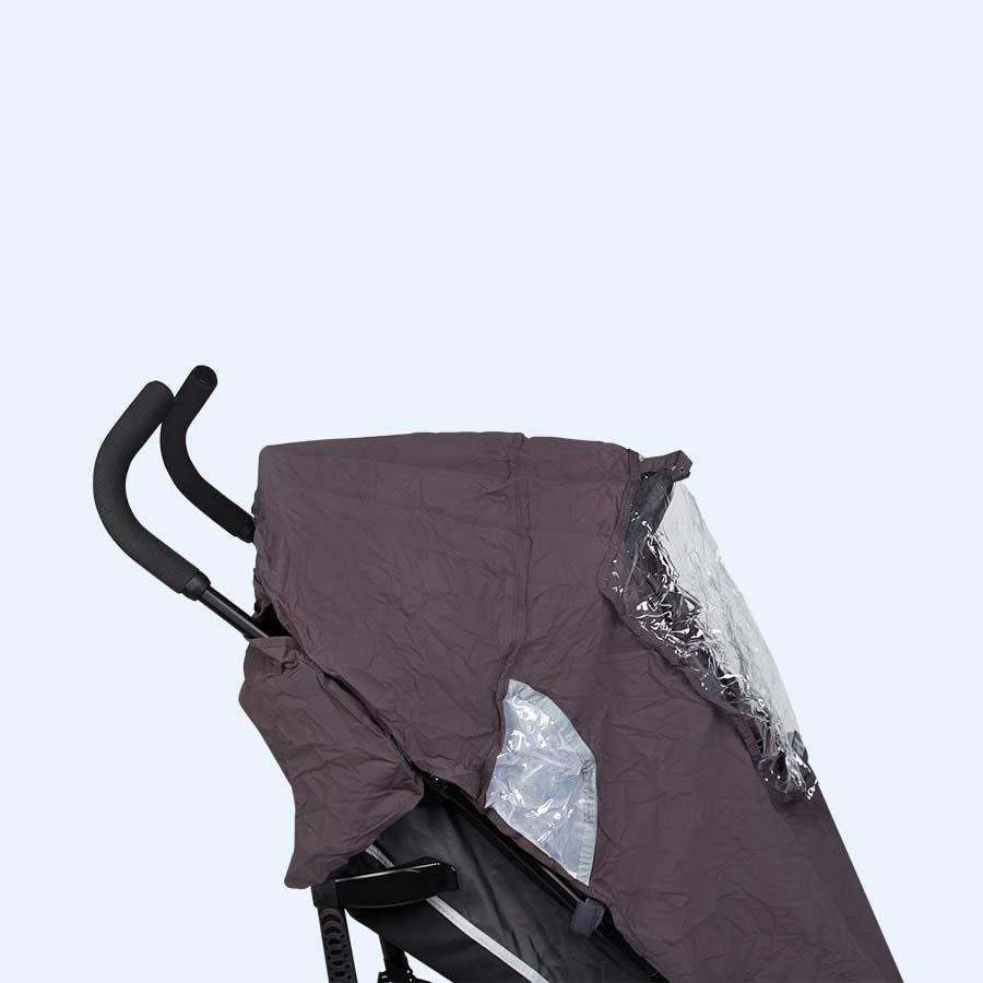 Black Koo-di Pack-It Stroller Raincover