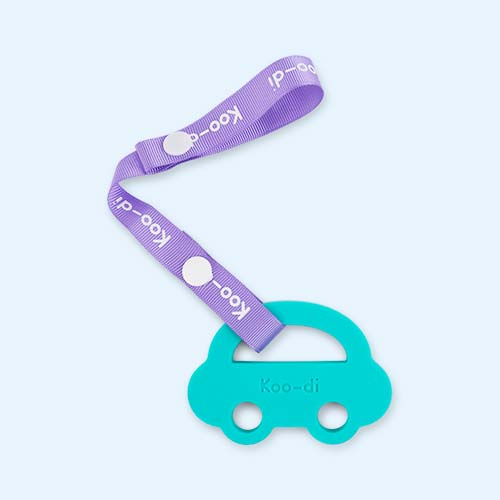 Blue Koo-di Baby Choos Car Teether