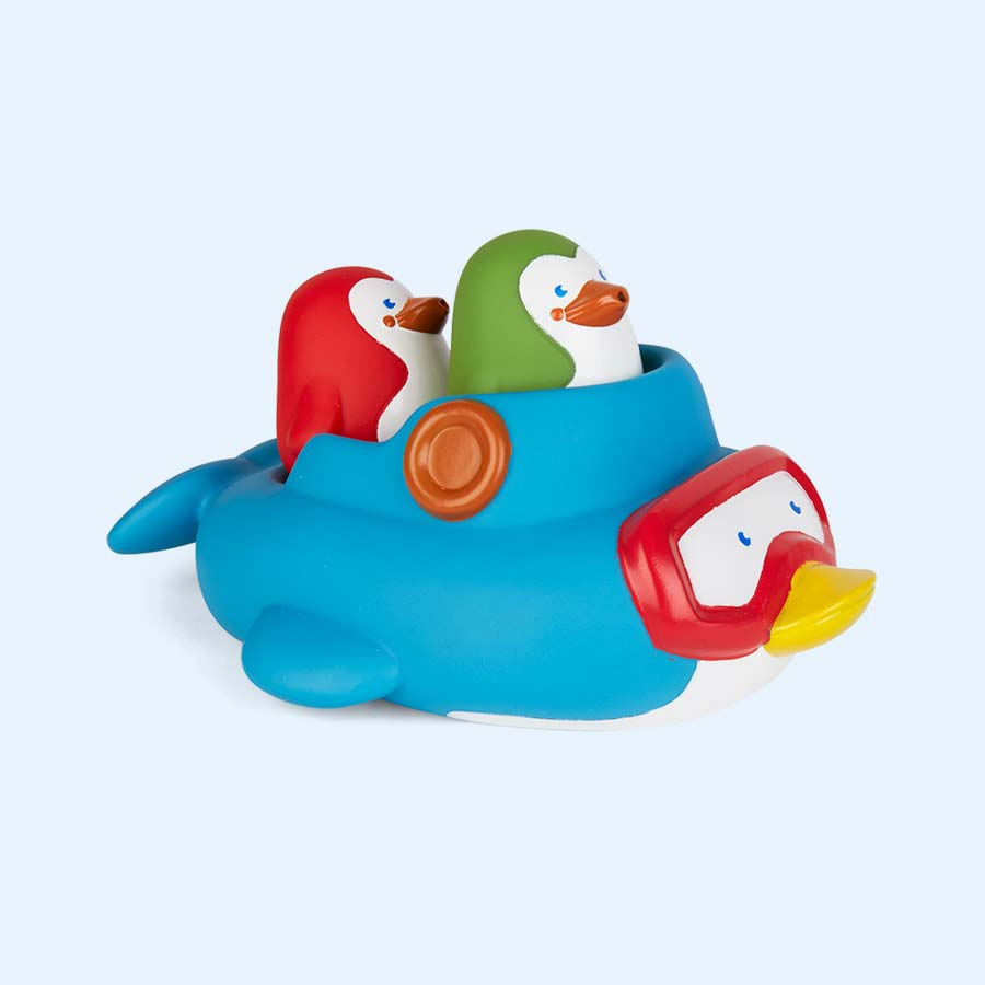 Buy the B Kids Squirt & Sail Penguins Bath Toy. Tried & Tested by ...