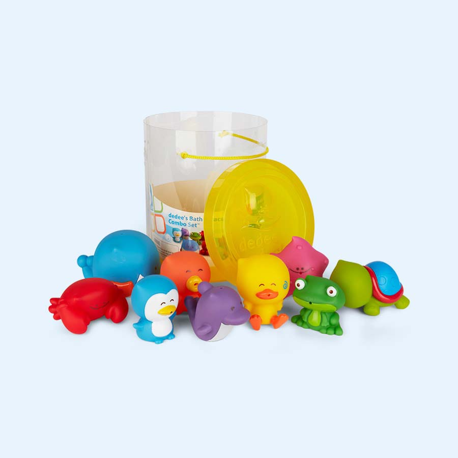 buy the b kids bath parade combo bath toys at kidly. Black Bedroom Furniture Sets. Home Design Ideas