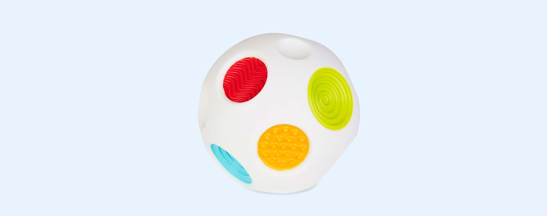 White B Kids Sensory Rainbow Sound & Light Ball